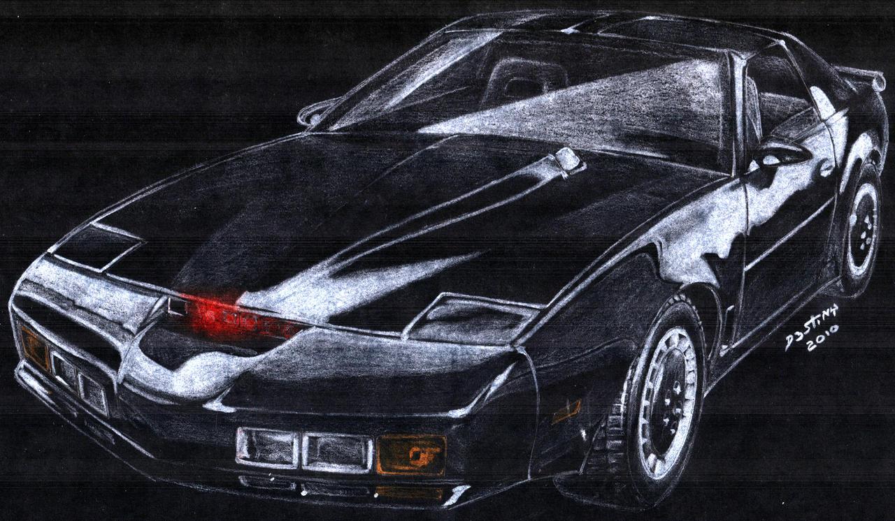 Kitt Knight Rider Art by spagi