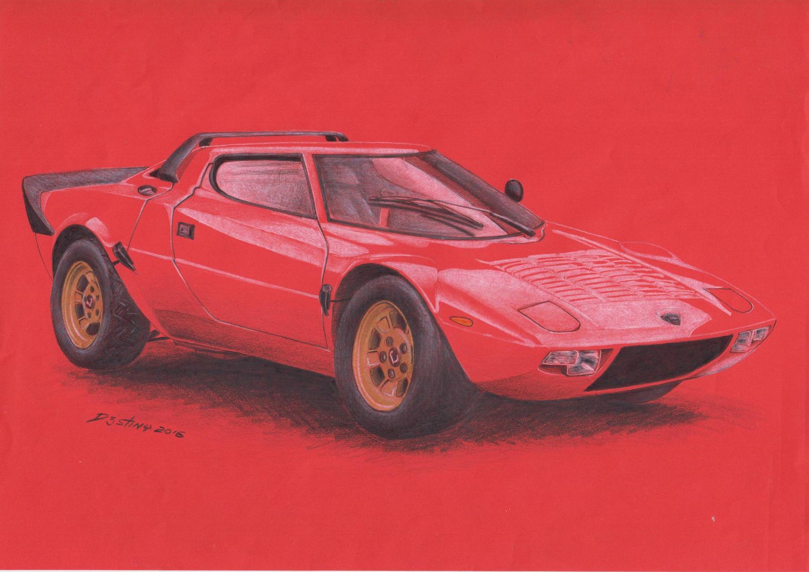 Lancia Stratos 1973 by spagi on DeviantArt