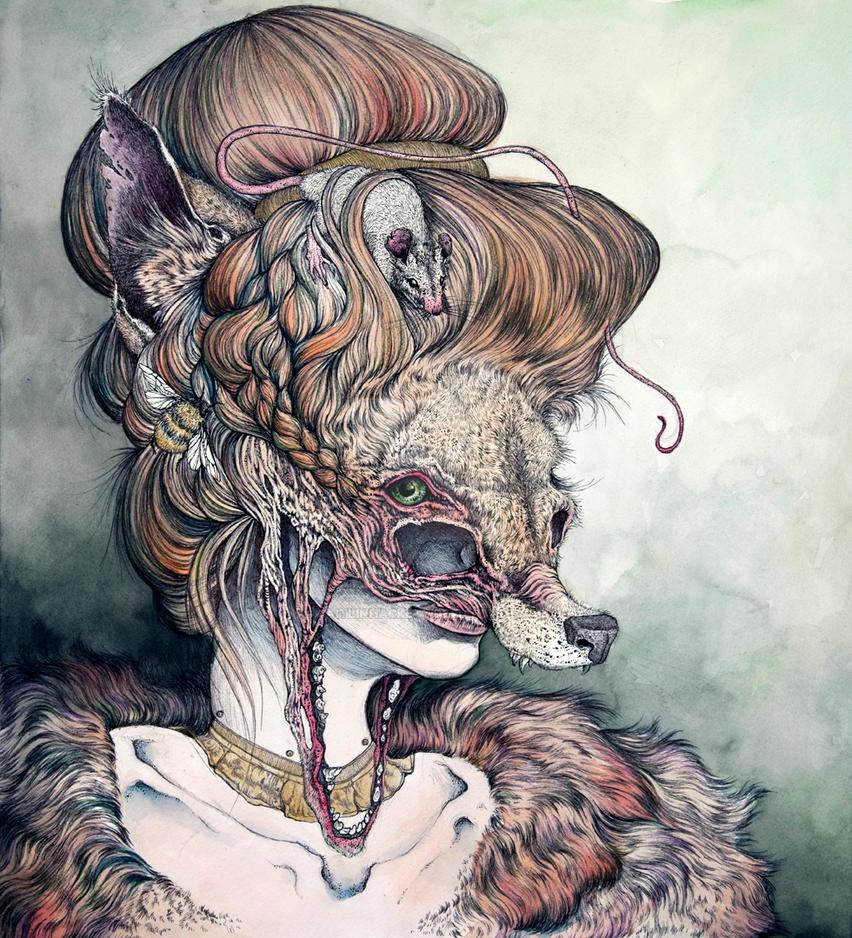 Vulpes Masquerade By CaitlinHackett