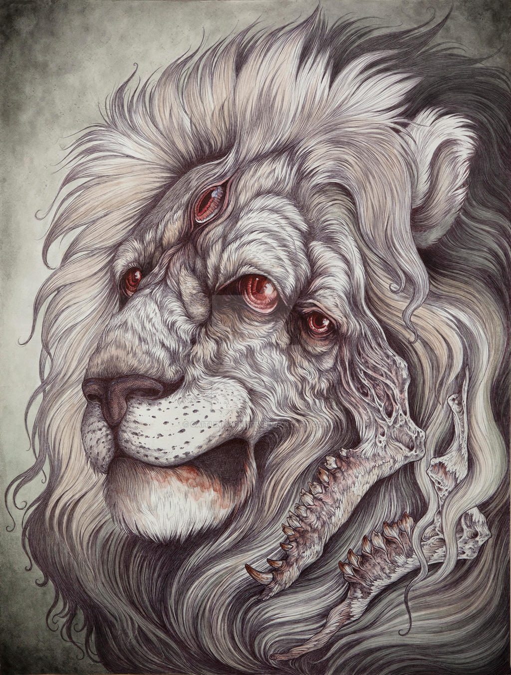 Nemean Lion by CaitlinHackett on DeviantArt