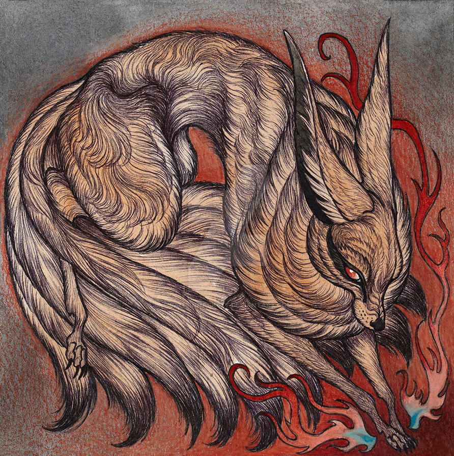 Nine Tails By Caitlinhackett On Deviantart