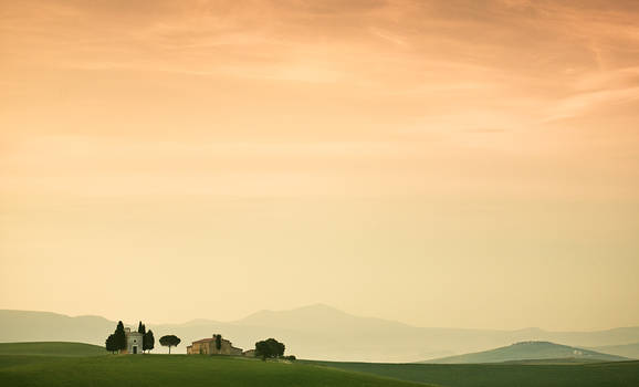 tuscany morning