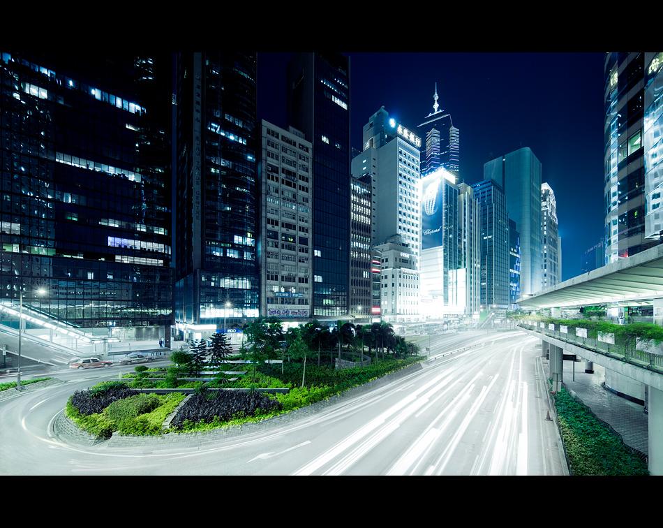 urban lightstream by Fersy