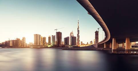 dubai cityscape by Fersy