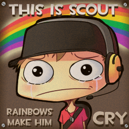 TF2 Spray - Rainbows by AzureReilight