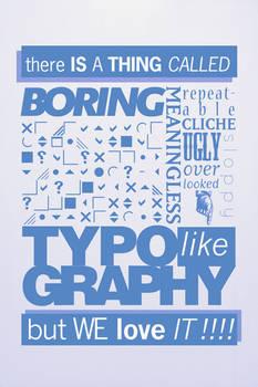 Boring Typography