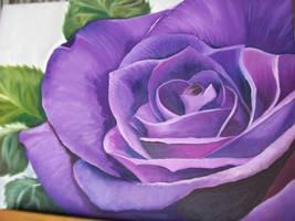 Violet Rose by EnniArt