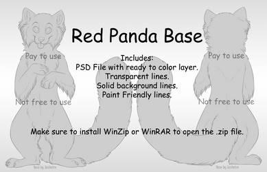 Red Panda Base [P2U] by Xeshaire