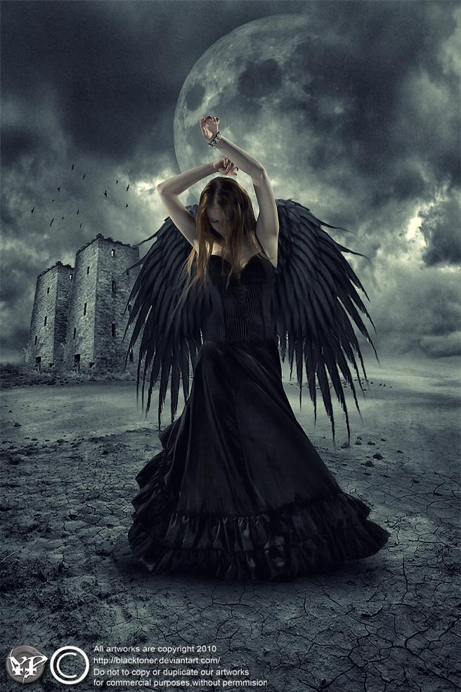 dancing black angel by blacktoner on deviantart