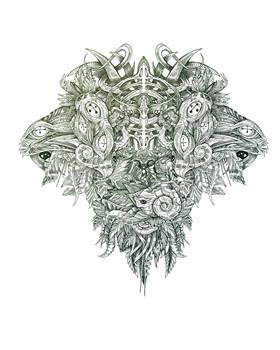 Botanical BioMorph totem