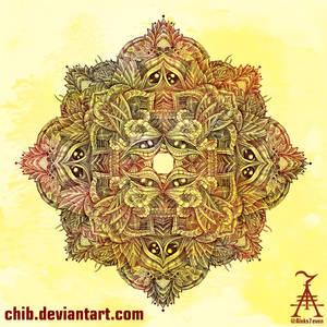 Botanical BioMorph Mandala 2
