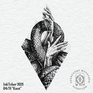 Inktober 2021 - 4/31 Knot