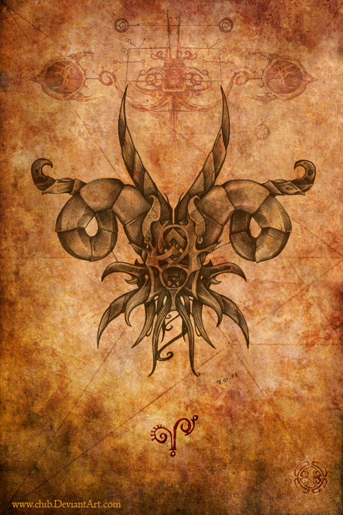 Aries by chib on deviantart for Aries and libra tattoo