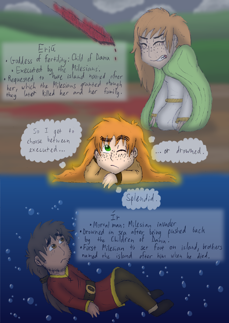 The Fate of Ireland's Founders by Kimanda