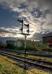 Semaphore Signal silhouette
