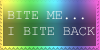 Bite me stamp by InoriAizawa