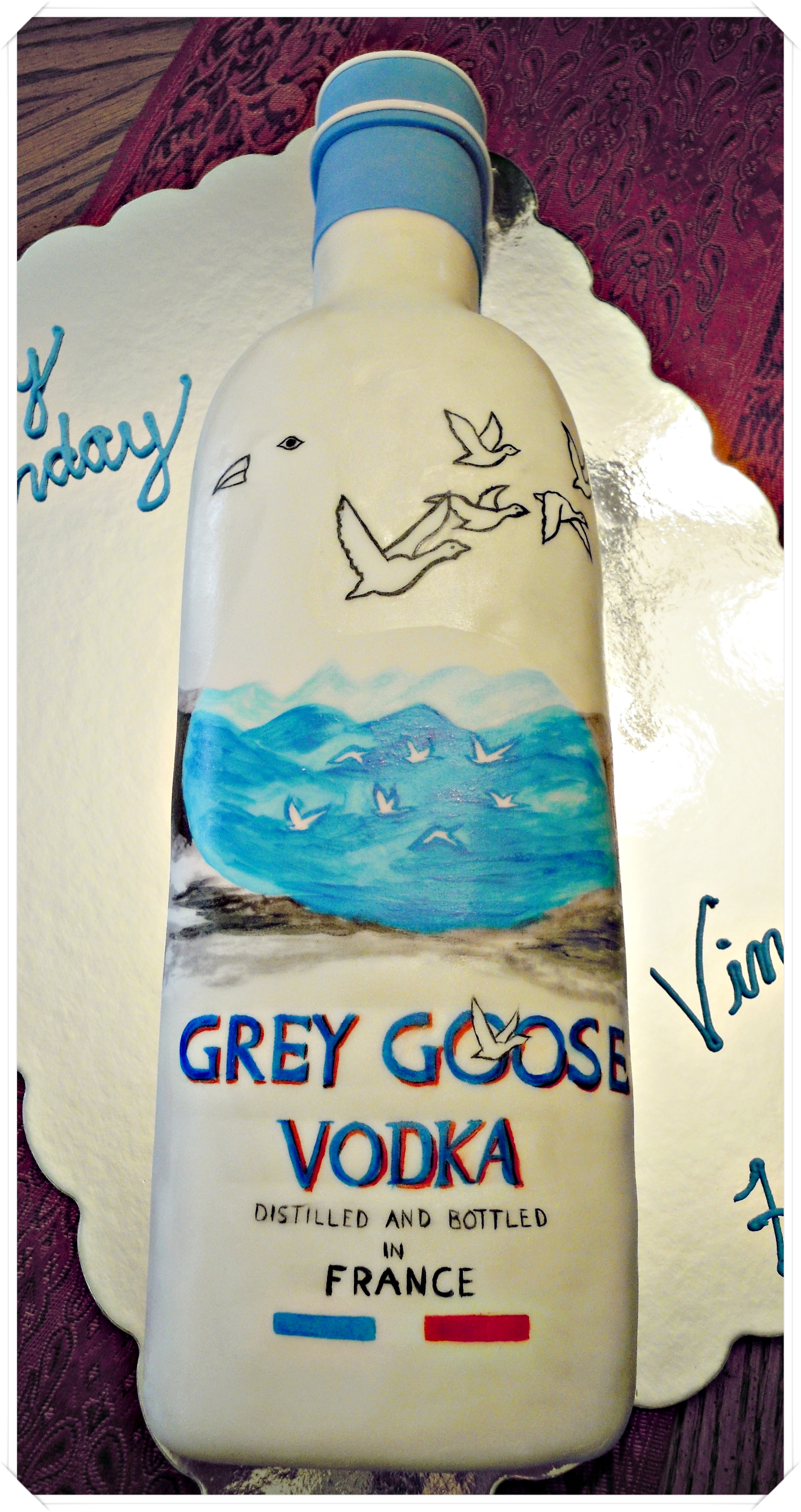Grey Goose Cake by cake4thought