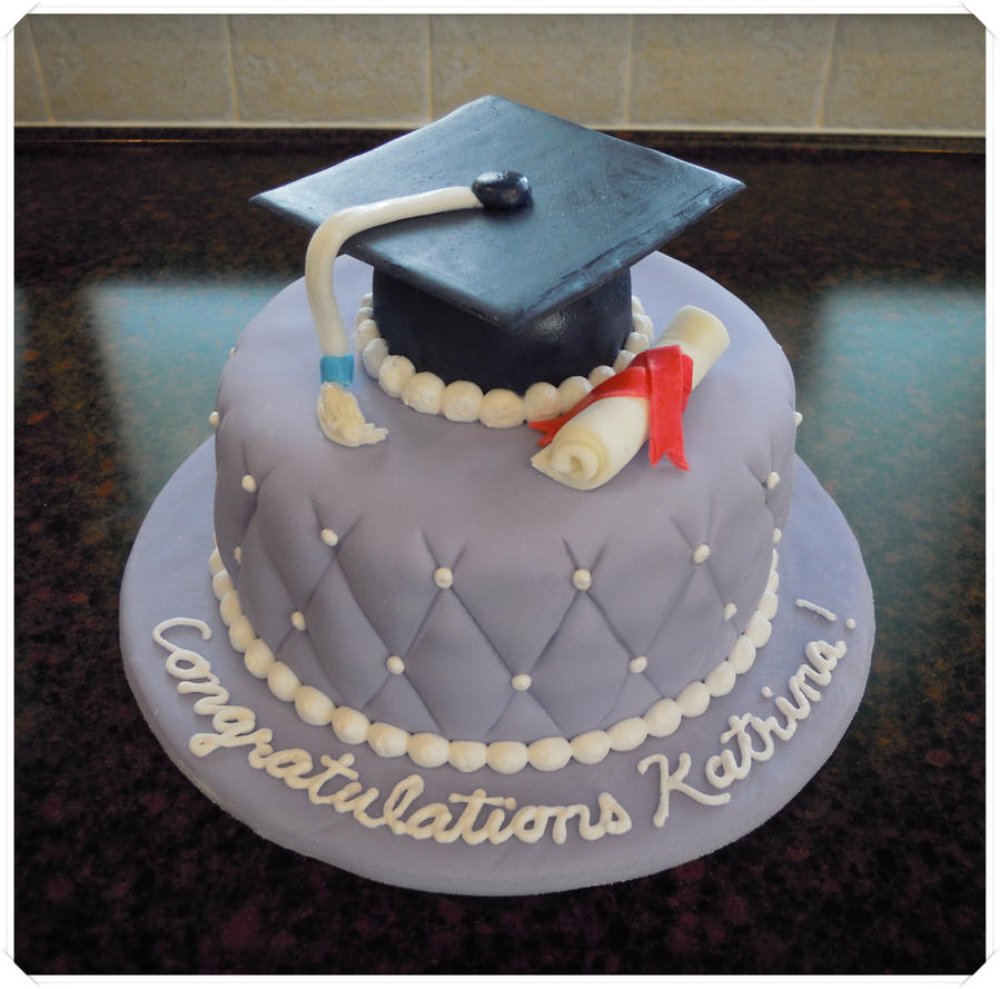 Graduation cake by cake4thought on DeviantArt
