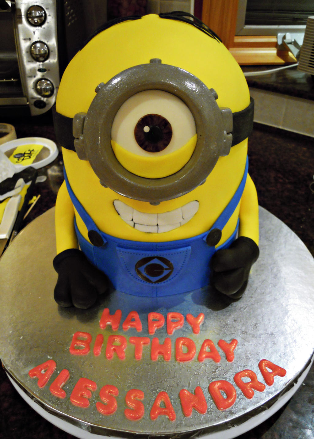 Minion Stuart Cake by cake4thought on DeviantArt