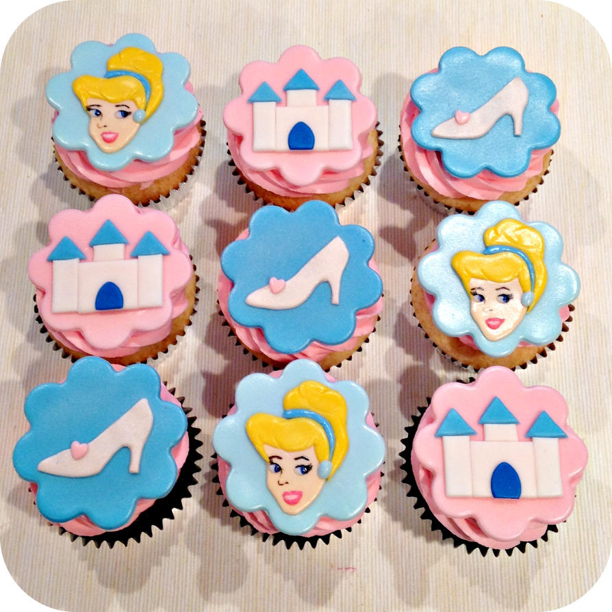 Cinderella Cupcakes by cake4thought