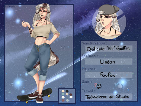 [UP] Fiche Personnage Kit