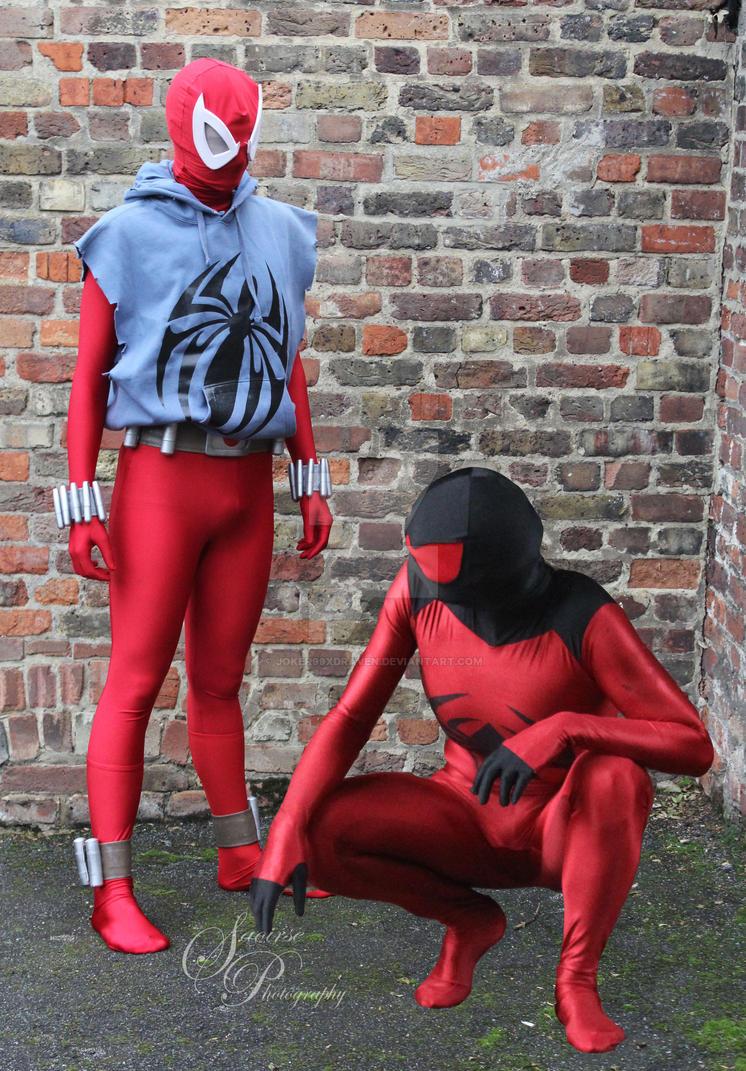 Scarlet Spider Meets Scarlet Spider by joker99xdraven