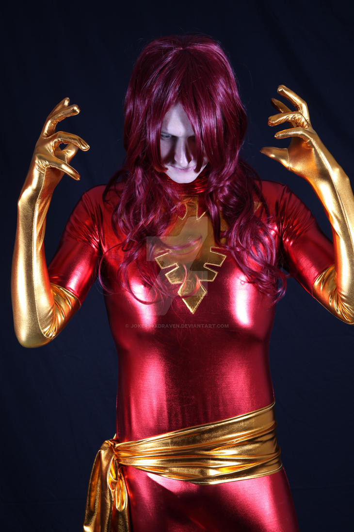 Dark Phoenix (Rule 63) by joker99xdraven