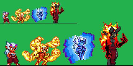 Kishin Pixels - Nariko Lineup