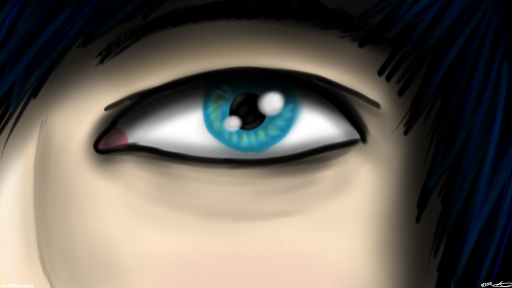 AmazingPhil - The tired eyes of a hero... by vishthefish2013