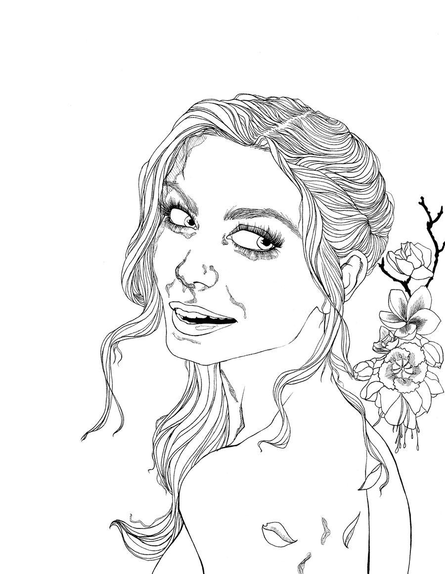 Flower girl by neobie