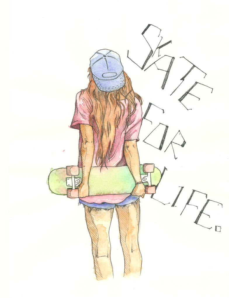 Skate For Life by neobie