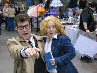 Heroes Con 2013 with the Doctor! by stinethecrafter