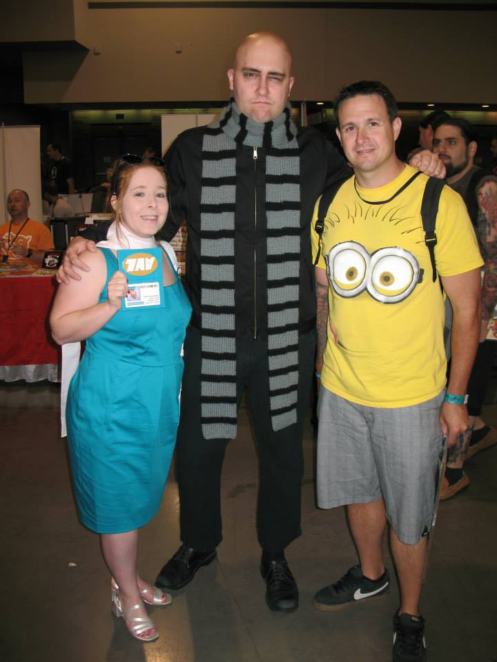 Heroes Con 2013 Lucy Wilde with Gru and Minion by stinethecrafter ...  sc 1 st  DeviantArt & Heroes Con 2013 Lucy Wilde with Gru and Minion by stinethecrafter on ...