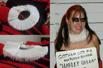 Commission - Harley Quinn New 52 Collar by stinethecrafter