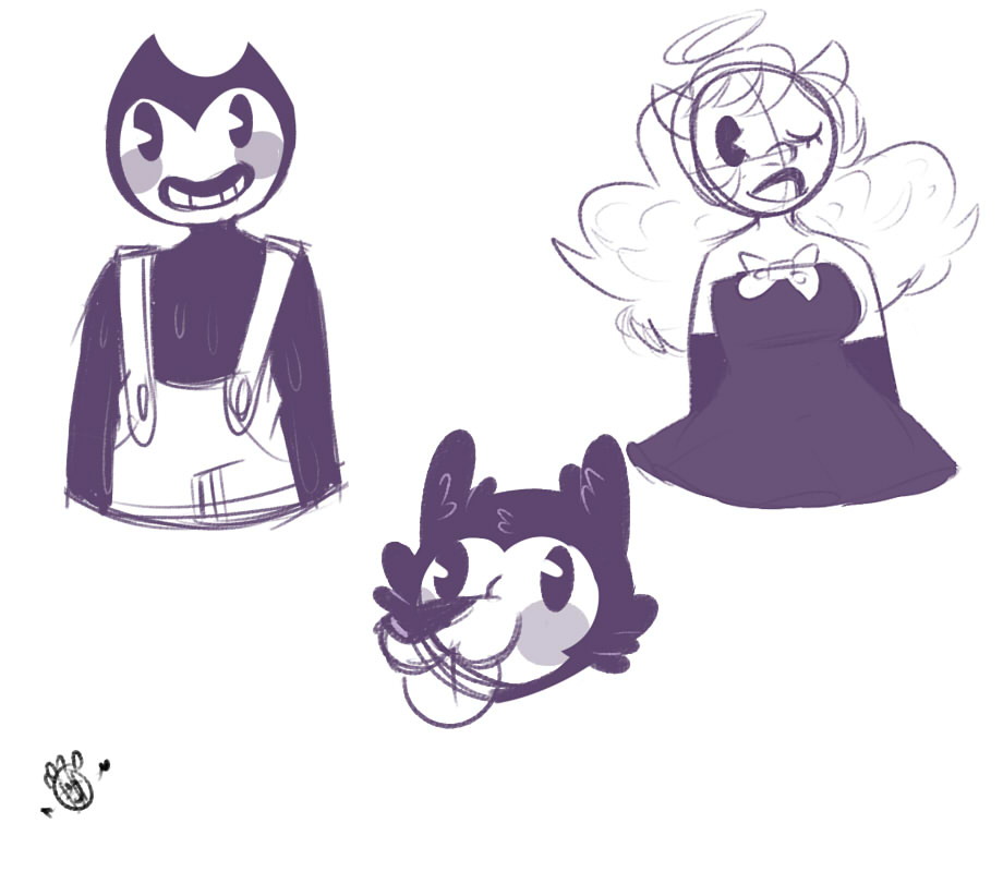 Chapter 2 doodles by cipherpineapplez