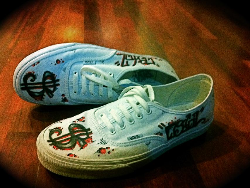 Respirez V3's Custom Shoes 2 by Respirez425