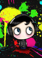 Headphones by i-want-the-red-one