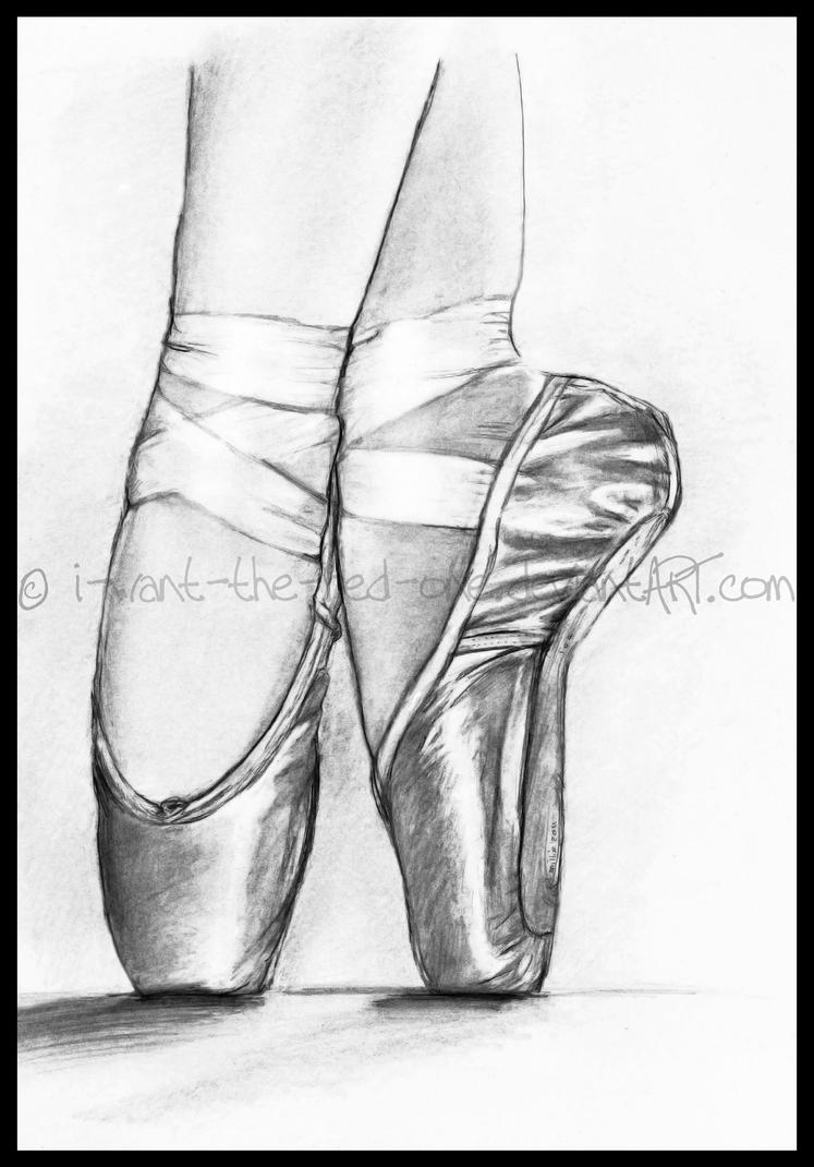 How To Draw Point Shoes