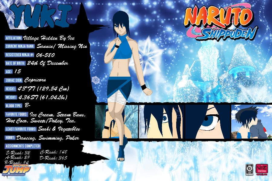 Naruto Yuki By Moo534 On Deviantart
