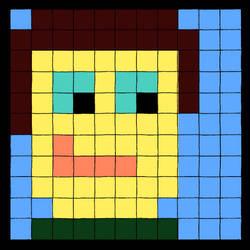 Pixel Self Portrait