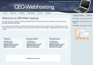 CEO-Webhosting
