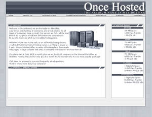 Once Hosted