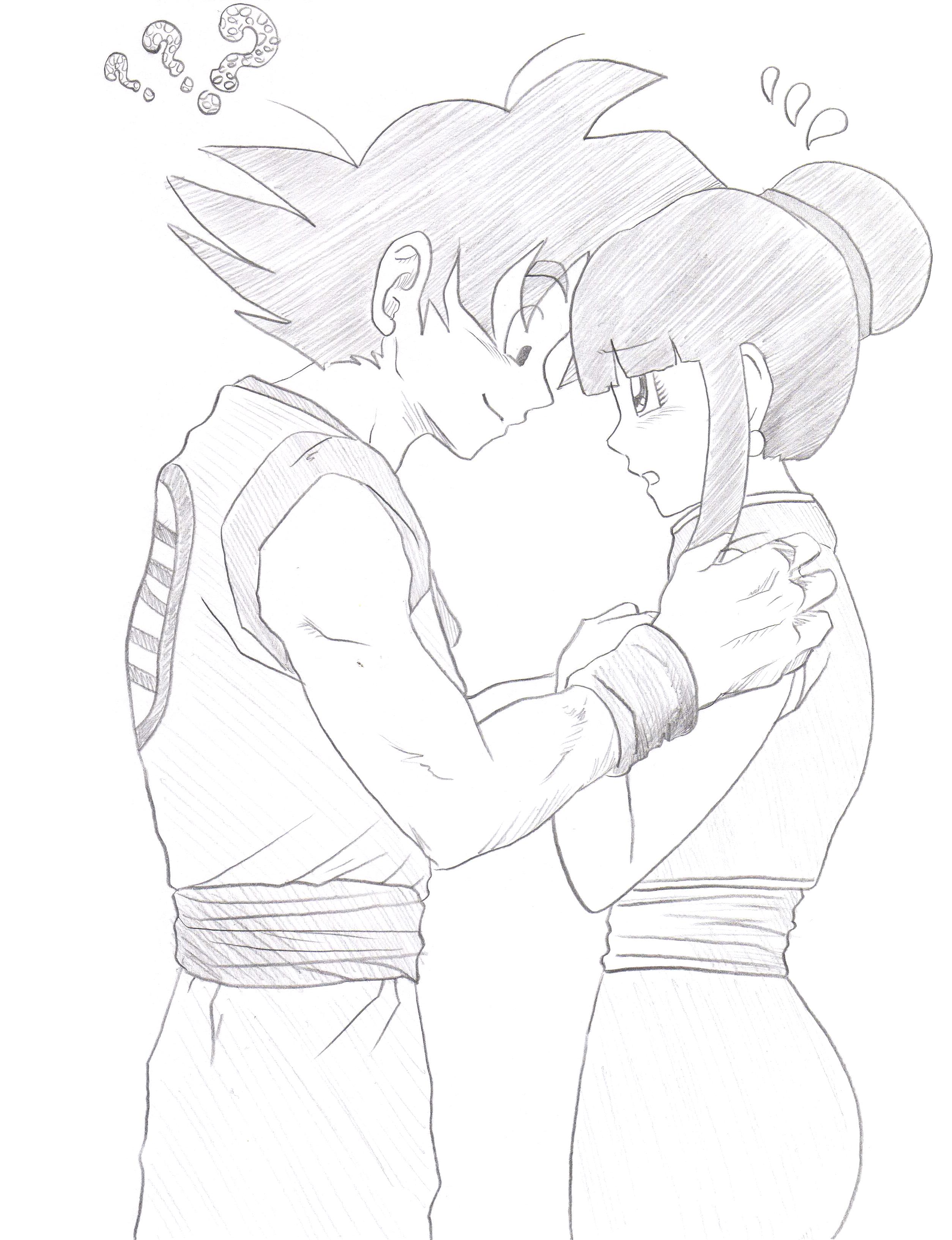 Goku x ChiChi by GoxGo