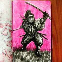samurai  by kasuga999