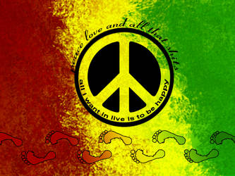 rasta peace by elcoyotes