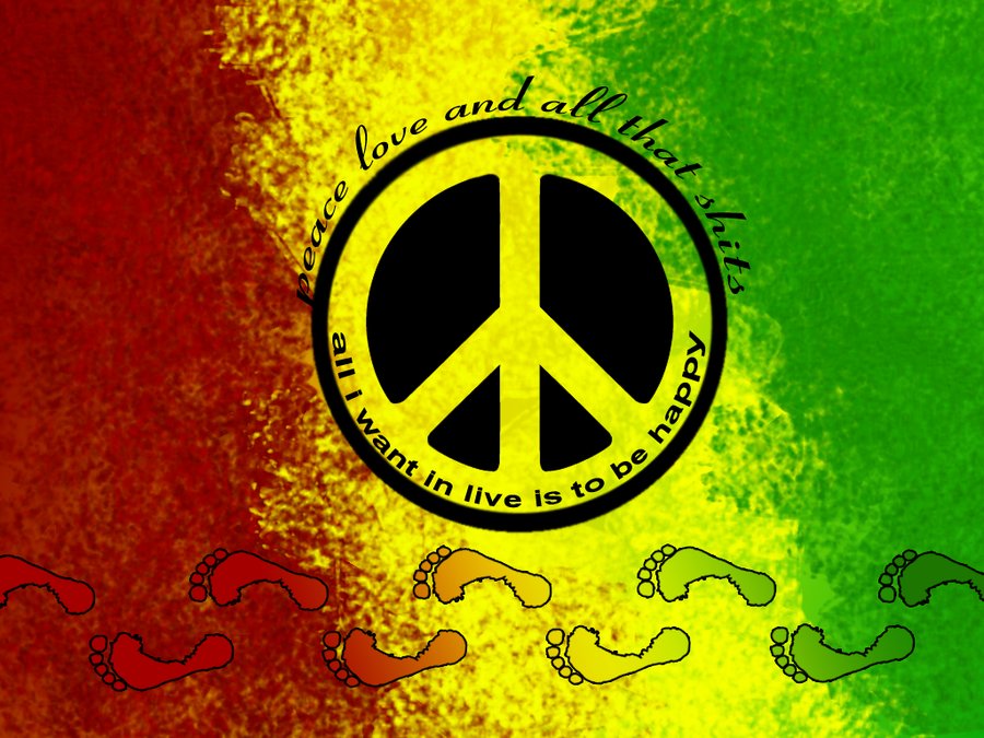 rasta peace by elcoyotes on DeviantArt