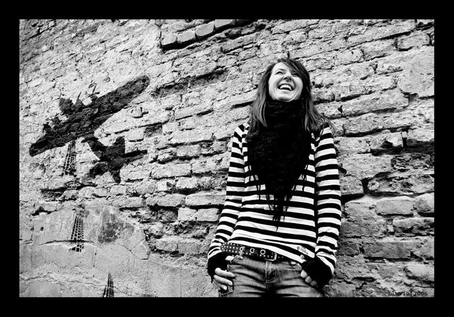 Laugh by Lluvia