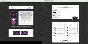 F2U Gothic Page by rollingpoly