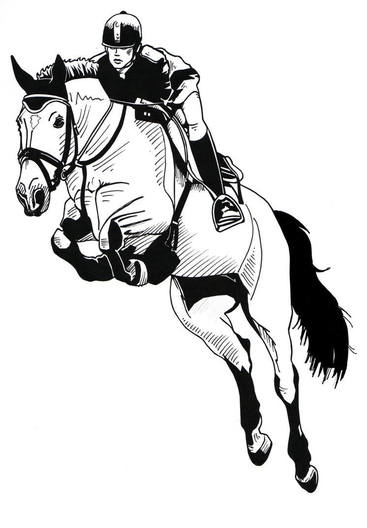 horse drawings clip art - photo #46