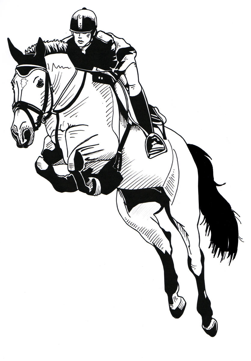 Jumping Horse By Harlekin1979 Jumping Horse By Harlekin1979 How To Draw